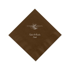 Mocha Cocktail Napkins