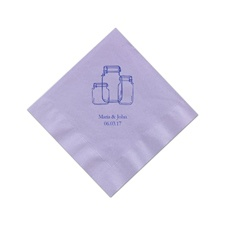 Lavender Cocktail Napkins