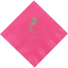 Hot Pink Dinner Napkins