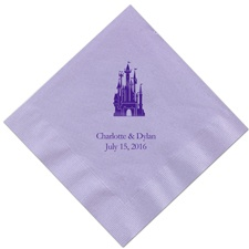 Lavender Dinner Napkins