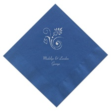 Royal Blue Luncheon Napkins