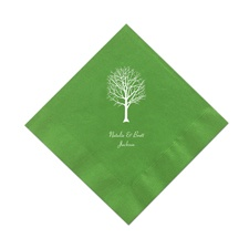 Kiwi Green Cocktail Napkins