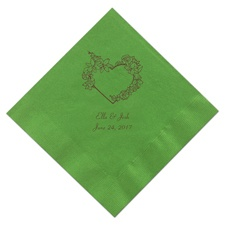 Kiwi Green Dinner Napkins