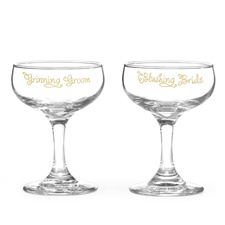 Cutest Couple Champagne Glasses