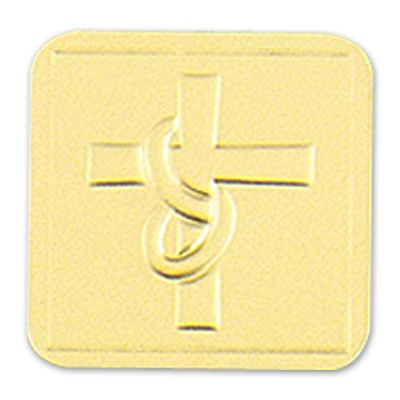 Embossed Cross Seal