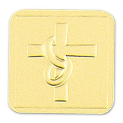 Embossed Cross Seal