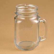 Bridesmaids Country Canning Jar Mug