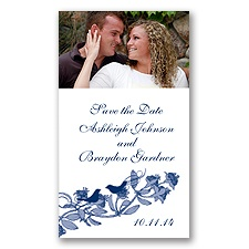 Love Birds - Eclipse - Photo Save the Date Magnet