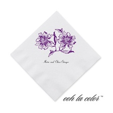 Flower and Flourishes - Grapevine - Cocktail Napkin