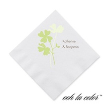 Floral Shadow - Leaf - Cocktail Napkin