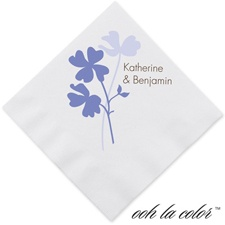 Floral Shadow - Hydrangea - Dinner Napkin