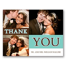 Thank You Card & Envelope