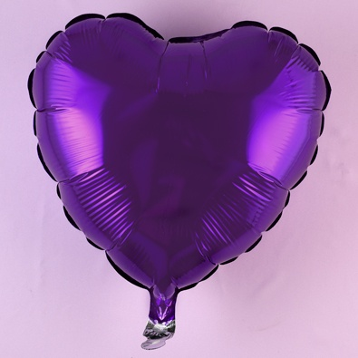 Purple Mylar Balloons