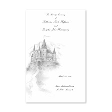 Happily Ever After - Wedding Program