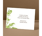 Growing Love - Grass - Reception Card