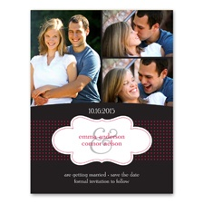 Cloud 9 - Photo Save the Date Card