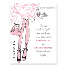 This Girl's Engaged - Save the Date Card