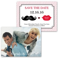 Kissable - Photo Save the Date Card