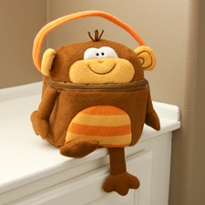 Plush Monkey Bag