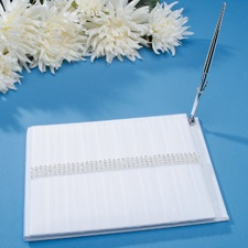 Sparkling Band Guest Book