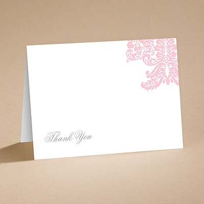 Enchanted Evening - Thank You Folder Printed and Envelope