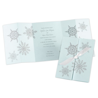 Winter Wonders - Invitation