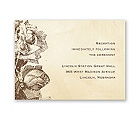 Etched Roses - Reception Card