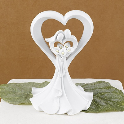Love's Embrace Cake Top