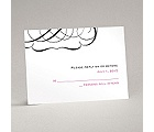 Elegant Monogram - Response Card and Envelope
