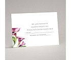 Colorful Calla Lily - Grapevine - Response Card and Envelope