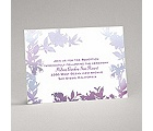 Watercolor Shades - Purple - Reception Card