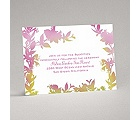 Watercolor Shades - Fuchsia - Reception Card