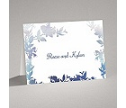 Watercolor Shades - Navy - Thank You Card and Envelope