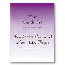 Sweet Shading - Purple - Save the Date