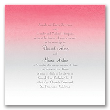 Sweet Shading - Pink - Invitation