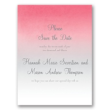 Sweet Shading - Pink - Save the Date