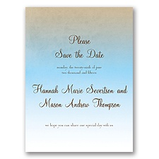 Sweet Shading - Aqua - Save the Date
