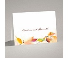 Autumn Artistry - Thank You Card and Envelope