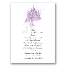 Magical Romance - Menu Card