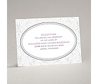 Flourish Frame - Grey - Reception Card