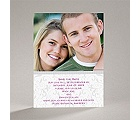 Flourish Frame - Grey - Save the Date Card