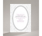 Flourish Frame - Grey - Bridal Shower Invitation