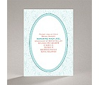 Flourish Frame - Teal - Bridal Shower Invitation