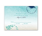 Beach Romance - Surf - Response Card and Envelope