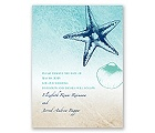 Beach Romance - Surf - Save the Date Card