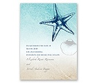 Beach Romance - Sterling - Save the Date Card