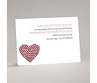 Heart of My Heart - Red Reception Card
