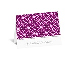 Fun Frame - Purple - Thank You Card and Envelope