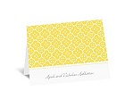 Fun Frame - Yellow - Thank You Card and Envelope