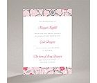 Tropical Flowers - Cotton Candy - Bridal Shower Invitation